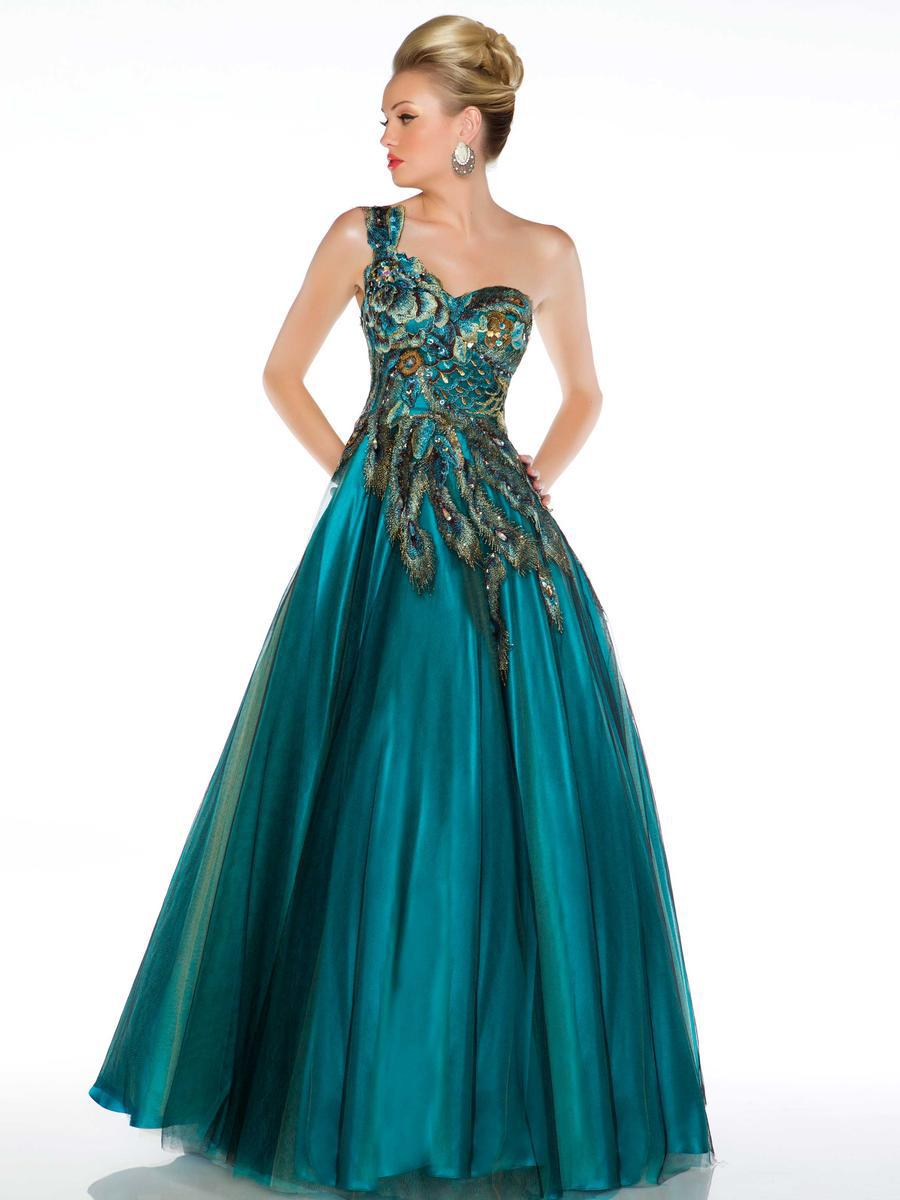 Online buy wholesale peacock feather prom dress from china for Prom dresses that look like wedding dresses