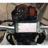 Mobile Phone Navigation Bracket USB Phone Charging For BMW F800GS/ADV 2013 2017