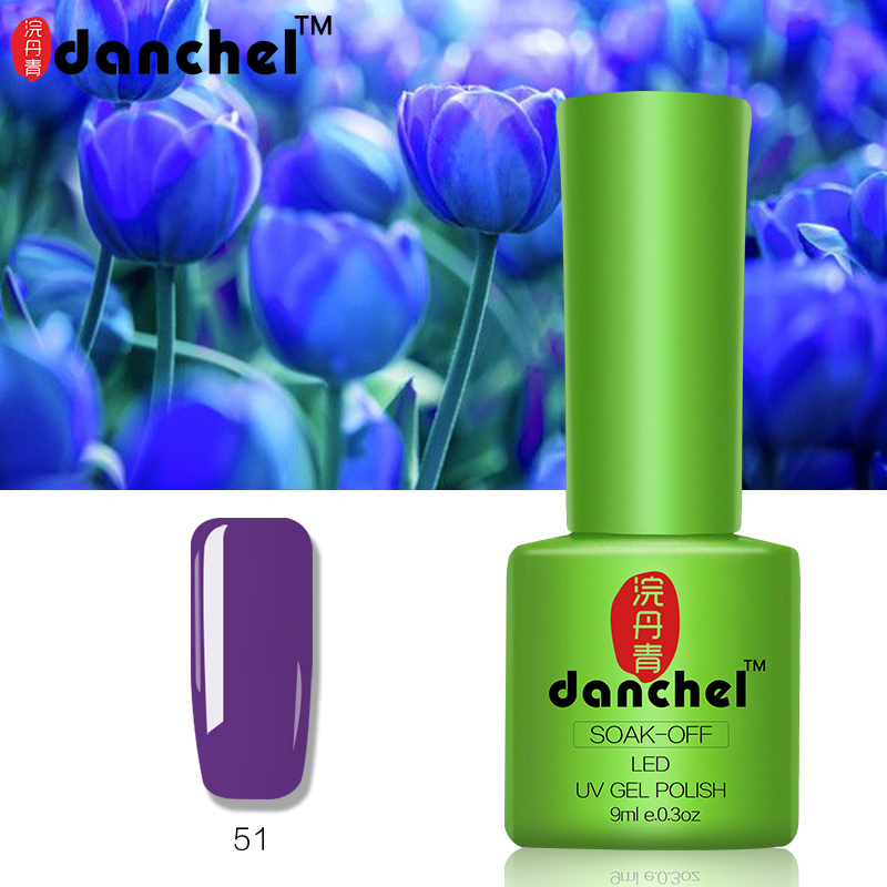 Danchel Gelpolish Nail Gel Soak Off UV Gel Polish Barniz 79 Pure - Arte de uñas