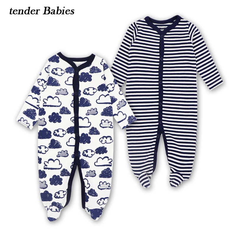 2018 Newborn Infant Baby Rompers Spring Autumn Baby boy Clothing Long Sleeve Baby Body Suit Kids Baby Boy Girl Rompers Clothes mother nest 3sets lot wholesale autumn toddle girl long sleeve baby clothing one piece boys baby pajamas infant clothes rompers