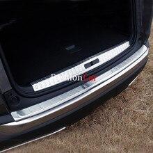 Для Peugeot 3008 GT 2016 2017 2 шт. протектор заднего бампера шаг панель крышке багажника подоконник пластины отделка багажника аксессуары