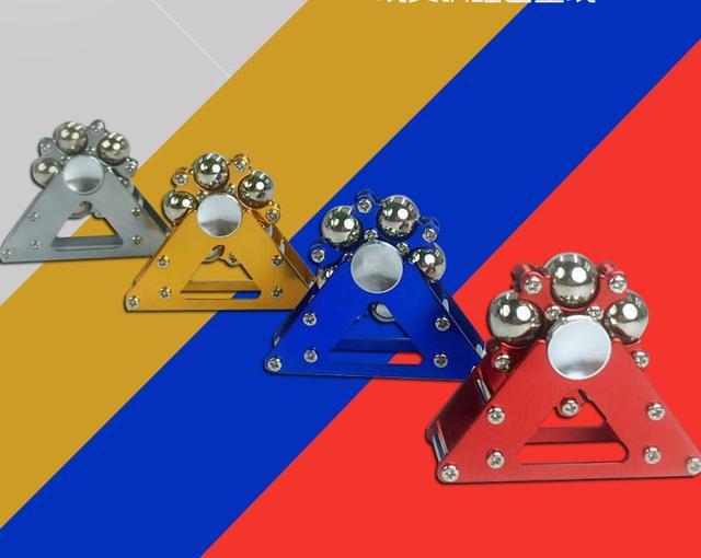 Stainless Steel Ball Ferris Wheel Creative Fidget Spinner Stress Toys