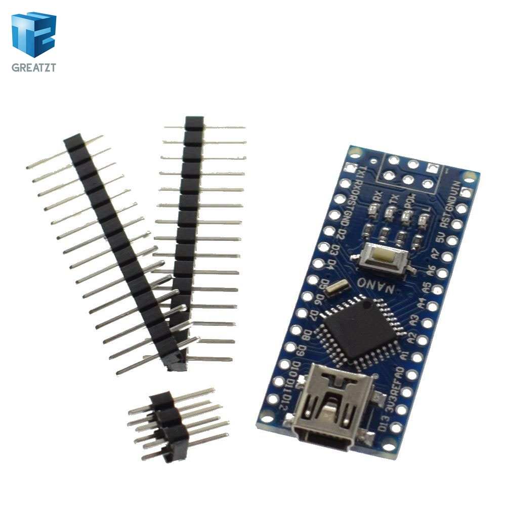 Image 3 - Free shipping ! 20PCS Nano 3.0 controller compatible for  nano CH340 USB driver NO CABLE nano v3.0 for Arduino-in Integrated Circuits from Electronic Components & Supplies