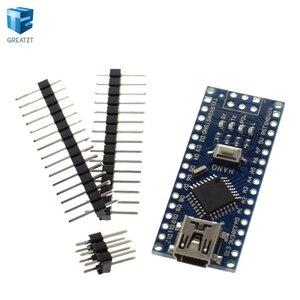Image 3 - Spedizione gratuita! 20PCS Nano 3.0 controller compatibile per nano CH340 driver USB NESSUN CAVO nano v3.0 per Arduino