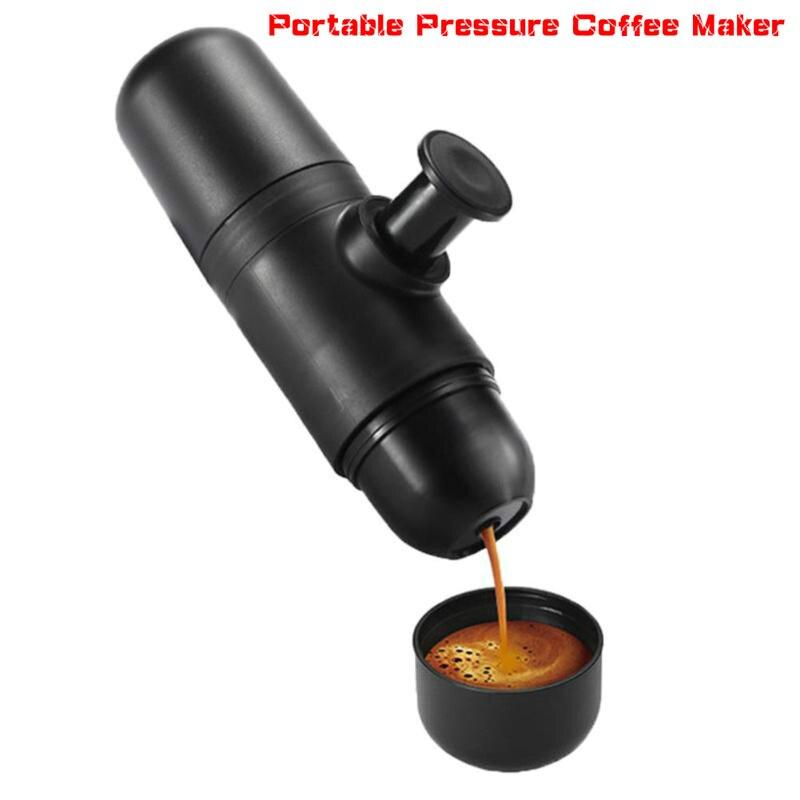 Mini Coffee Machine Manual Coffee Maker Portable Pressure Espresso Coffee Maker Handheld French Press Maker For Home Traveller