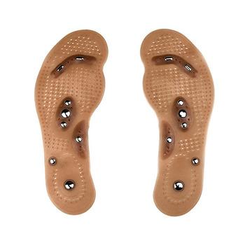 Odchudzanie masaż pielęgnacja stóp buty mata Pad brązowy wkładka hurtownia podeszwy terapia magnetyczna odchudzanie wkładki opieka zdrowotna brązowy Mat tanie i dobre opinie Pierścień magnetyczny toe 299189 0 090 Utrata masy ciała kremy