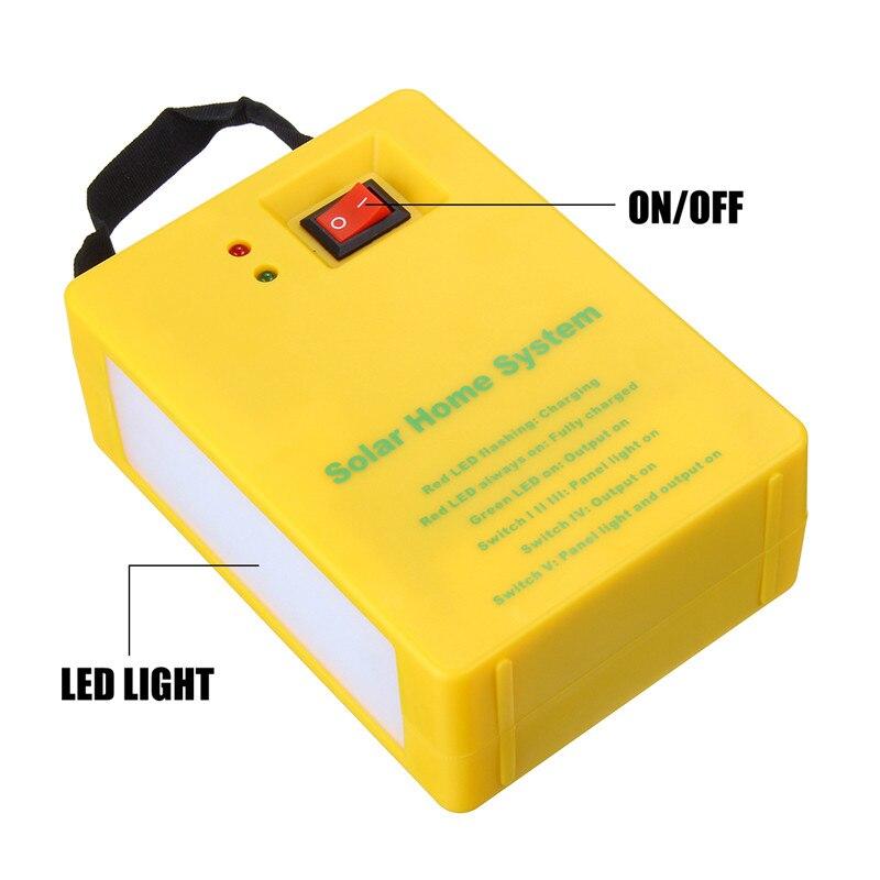led solar luz com 2 lâmpadas 3