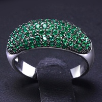 2016 New Unique Jewelry Color Ring Allergy Free Platinum Plated AAA Cubic Zirconia Rings For Girl