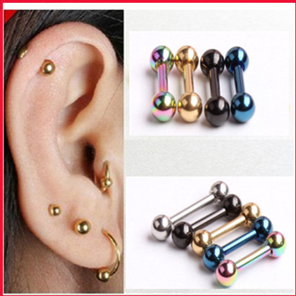 l f studs piercing ear pearl stud gold jewellers hinds jewellery