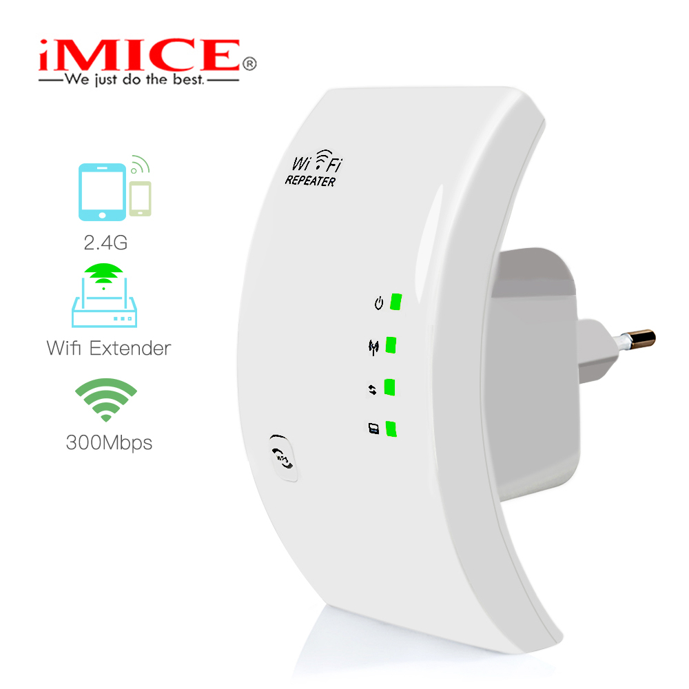 300Mbps Wifi Repeater Wireless 2.4G Wifi Network Mini Range Extender 802.11N/B/G Wifi Booster Signal Amplifier