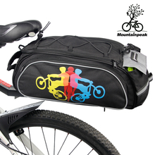 Bicycle Saddle Bag Large Capacity Rainproof Riding Cycling Storage Bag Bike Rack Seat Rear Bag Accessories MTB Bike Carries Bags