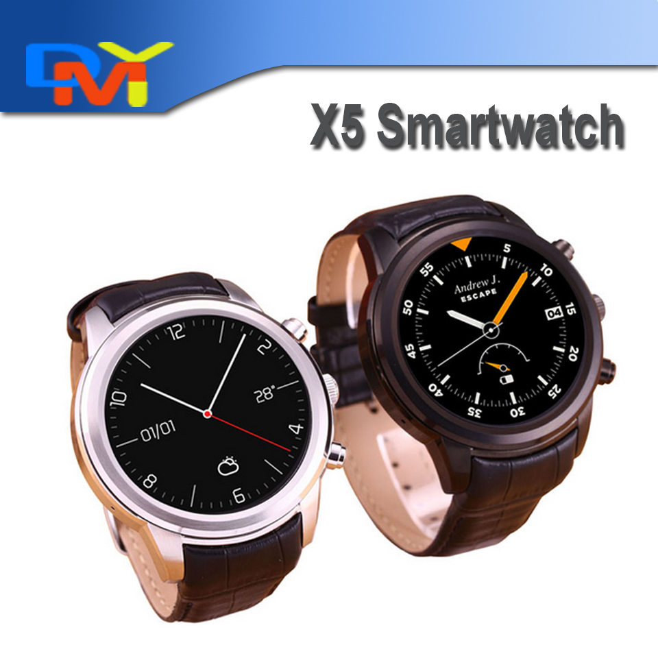 2016 Free Shipping Smart Watch 3G X5 Android WCDMA WiFi Bluetooth font b SmartWatch b font