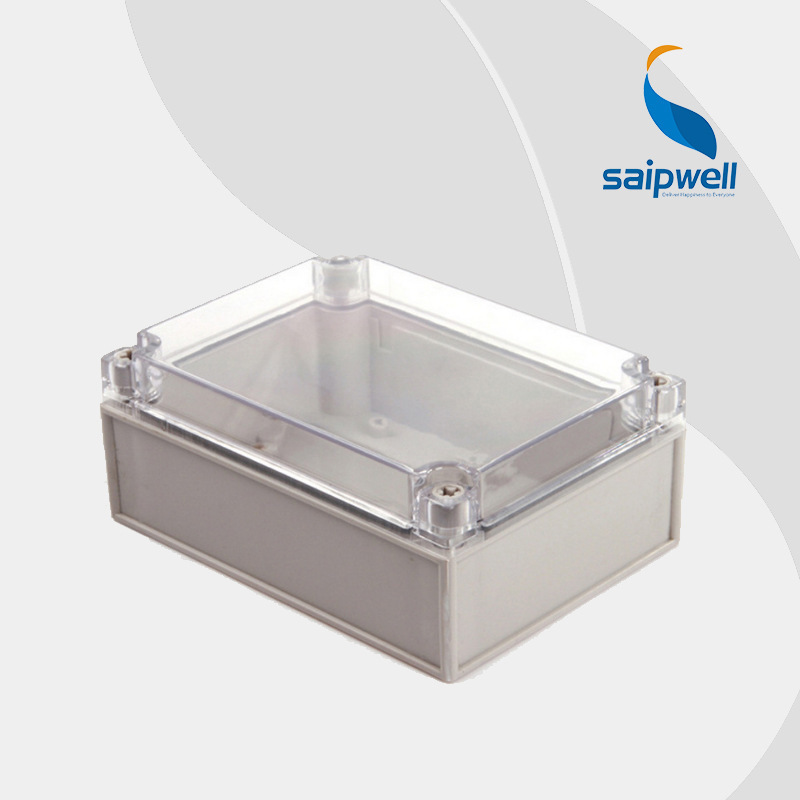 125 175 75mm European Style IP66 ABS Clear Plastic Enclosure Box DS AT 1217