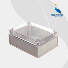 125*175*75mm  European Style IP66 ABS Clear Plastic Enclosure Box  (DS-AT-1217)
