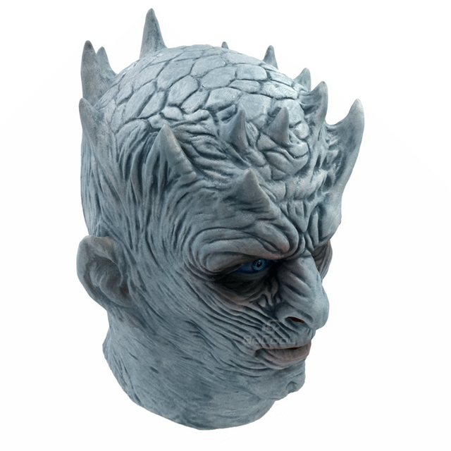 Night King Walker Face Latex Mask 2