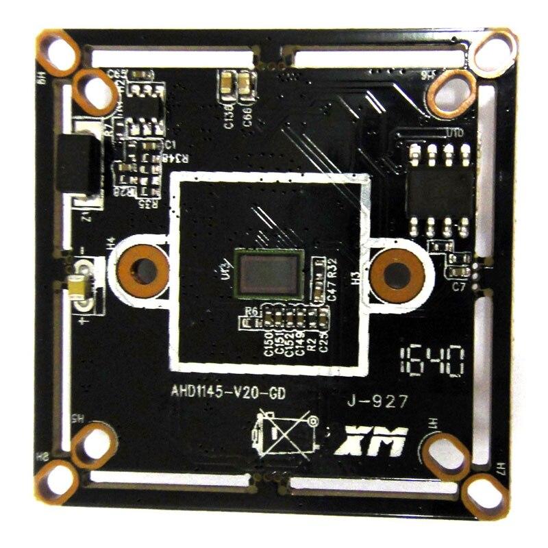 1.0mp 720p AHD Module CCTV Camera 1MP 1280x720 1/4 CMOS sensor Security PCB board with 2.8-12mm lens hd 1mp bullet 1200tvl camera module ahd board pcb 3 6mm lens ahd camera