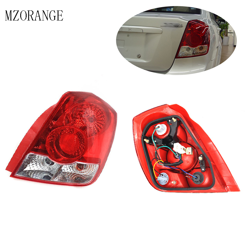 MZORAGNE Tail Light Tail Lamp LKKY04W For 2003-2007 Buick Excelle Rear Brake Light Stoplight Reversing Lamp Light/Right MZORAGNE Tail Light Tail Lamp LKKY04W For 2003-2007 Buick Excelle Rear Brake Light Stoplight Reversing Lamp Light/Right