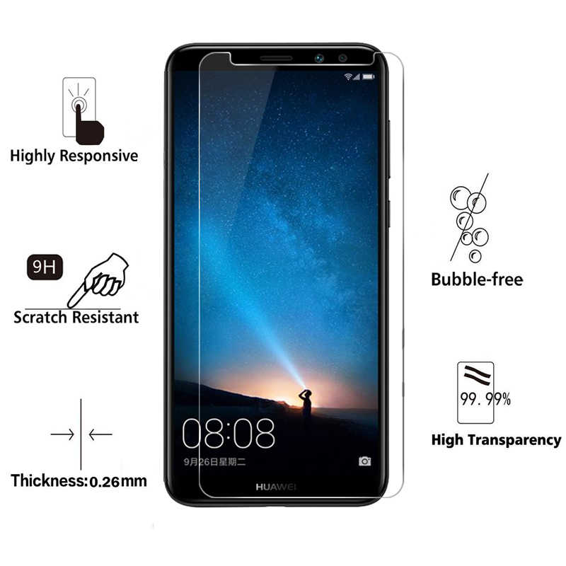 Vidrio templado para Huawei Nova 3 3i 3e 2i 2 Plus E protectora Glas Protector de pantalla en Honor de Nova3 nova2 I3 I2 2 plus E3 Nova3i
