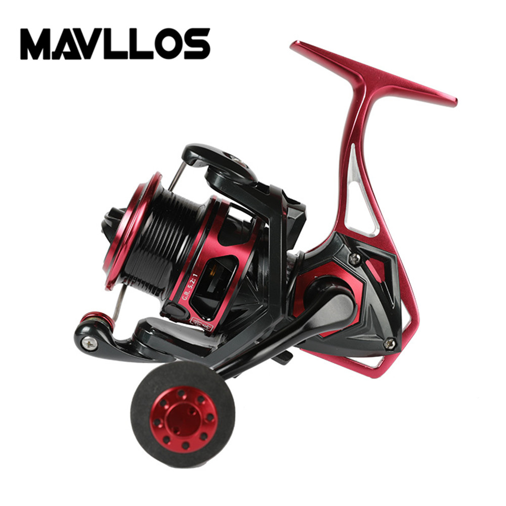 Mavllos Saltwater Slow Jigging Reel 10BB Ratio 5.2:1 Surf Casting Reels Max Drag Power 20Kg Carp Fishing Spinning Reel trolling reel 9 1bb drum wheel carp baitcasting reels centrifugal brake casting saltwater fishing reel super power drag 30kg