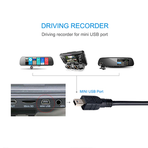 Image 2 - Data Charging Cable Cord Adapter USB to USB Male to Mini 5 Pin B  for MP3 MP4 Player Car DVR GPS Camera HDD Mini USB Cables