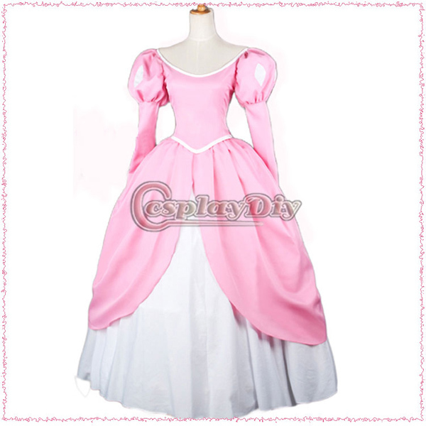Compare Prices on Princess Ariel Pink Dress Costume- Online ...