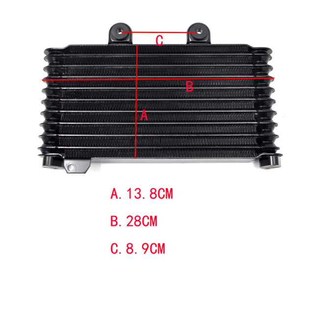 US $67 45 29% OFF|LOPOR Motorcycle Radiator For SUZUKI GSF600 GSF 600  Bandit 95 99 Aluminium Oil Cooler Radiator-in Engine Cooling & Accessories  from