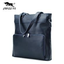 KREUZ OX Casual Echtem Leder Einkaufstasche Umhängetaschen Für Männer herren Portfolio Handtasche Messenger Bags Frühling Mode Geschenk HB550M