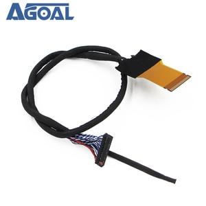 Image 5 - FFC LVDS כבל 2 ch 8 סיביות 51 סיכות 51pin כפולה 8 כבל גמיש שטוח כבל עבור LED פנל v400HJ6 PE1 550mm אוניברסלי LCD Controlle