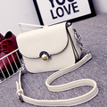 2017 new women messenger bags fashion women shoulder crossbody small women handbag leather lock button portable chain bag luxury