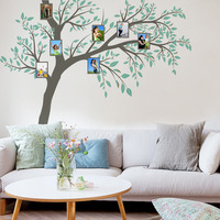 260*270cm Large Family Photo Tree Vinyl Wall Sticker on the Wall DIY Living Room Bedroom Modern Home Decor Poster Wallpaper