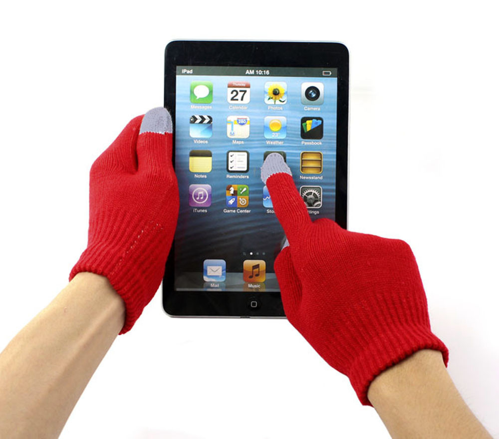 Warm Touchscreen Glove Breathable Tactico Mittens Unisex Touch Screen Gloves Texting Smartphone Iphone Winter Knit BlackY418