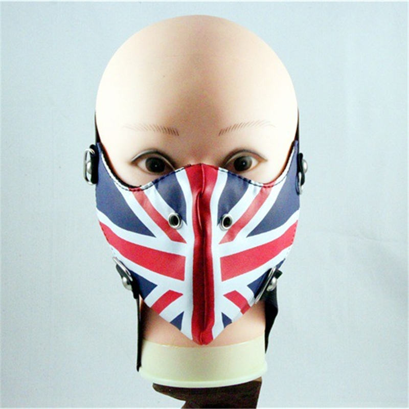 10pcs/Pack Europe And The United States Pop Singer Liu Dan Non-mainstream Masks Men's Personality Motorcycle Masks