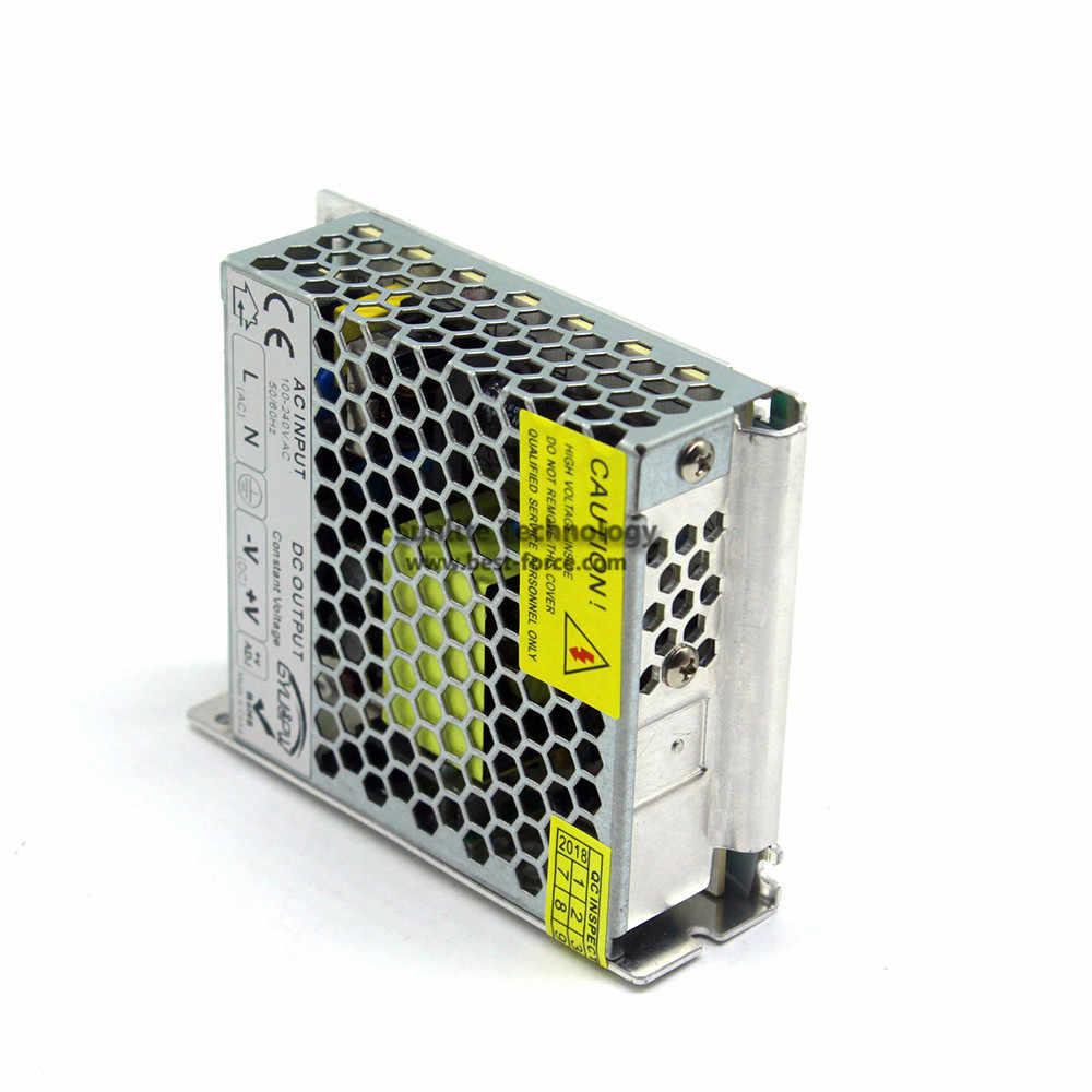 Один Выход ультратонкие DC 12 V 10A 120 W импульсный источник Мощность поставить AC100-240V для DC12V Источники питания для светодиодной ленты модули свет CCTV