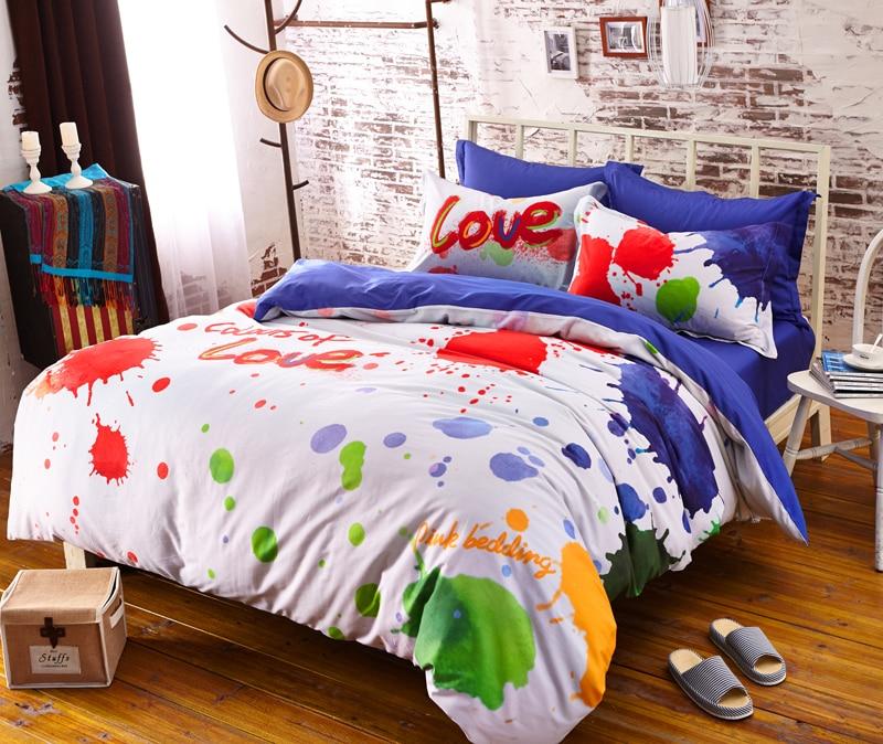 Designer Bedding Brand Bedding Set Colorful Bright Color