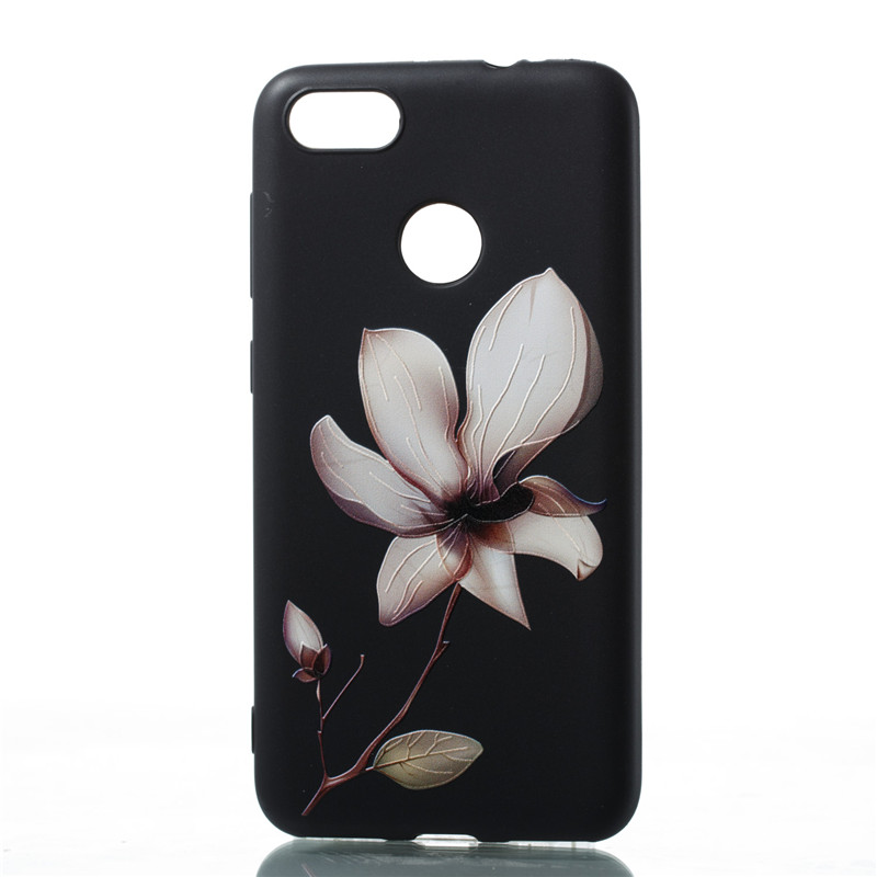 Huawei Nova lite 2017 SLA-L22 Cases Silicone Soft Cover for Huawei Nova lite 2017 SLA-L22 Cute Flowers Printing TPU Case