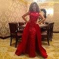 Chegada nova Moda A Linha de Alta Mangas Apliques Sashes Tiered Lace Tanque Vestidos de Celebridades Vestido Formal