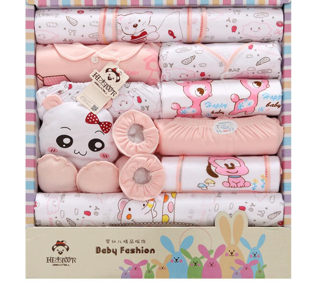 2017 spring summer new newborn baby clothing set gift 100% cotton character infant clothes suits 18 pieces baby gift set HC1021 brand 2016 spring summer yoga clothing set cotton linen meditation clothes high quality women buddhist set sports suits kk395 20