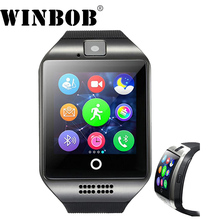 2018 Bluetooth NK18 Inteligente Relógio Relogio Smartwatch Android Phone Call SIM TF Camera para IOS iPhone Samsung HUAWEI VS Y1 q18