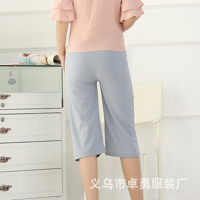 2016 New Fashion Casual Gravida Maternity Trousers Care Belly Wide-legged Pants Clothes For Pregnant Women Ropa Mujer