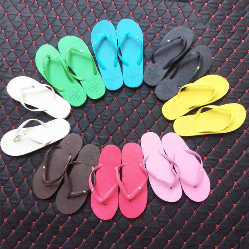 New fashion non-slip beach flip-flops for men and women casual flip-flops