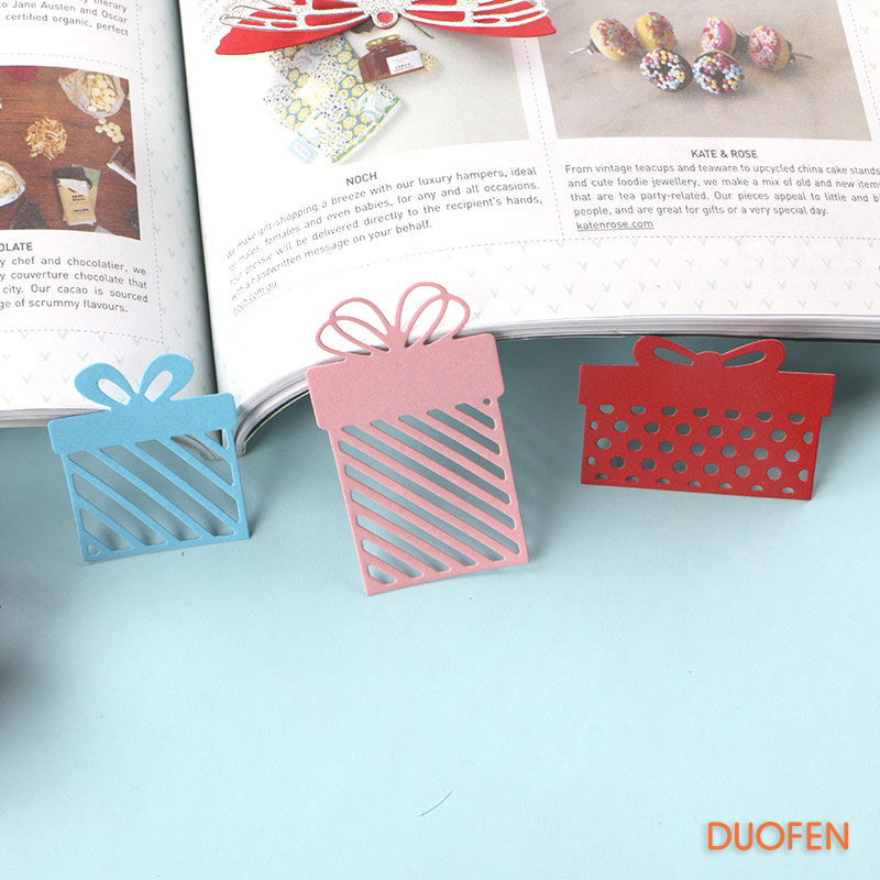 090127 Christmas Gifts Box Stencil Metal Cutting Dies For Diy