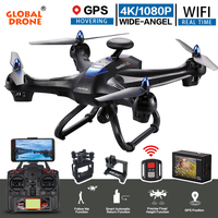 Global Drone X183 Professional Altitude Hold Helicopter Wifi FPV RC Quadrocopter With Camera HD 1080P 4K