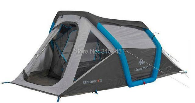 Quechua Waterproof Pop Up C&ing Tent AIR SECONDS XL 2 Tent 3 Man Double Lining  sc 1 st  AliExpress.com & Quechua Waterproof Pop Up Camping Tent AIR SECONDS XL 2 Tent 3 ...