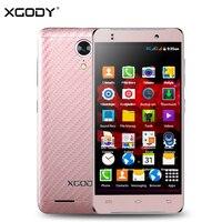 XGODY G10 4.5 Pouce 3G Smartphone Android 5.1 MT6580 Quad Core 1 GB RAM 8 GB ROM 5MP WiFi GPS Dual SIM Déverrouillé Les Téléphones Cellulaires Celular