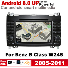 For Mercedes Benz B Class W245 2005~2011 NTG 7 HD Stereo 2 DIN Android Car DVD GPS Navi Map multimedia player radio System цена