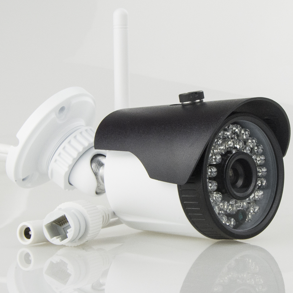 ФОТО Metal IP Camera 1080P wifi Wireless Outdoor Night Vision Surveillance Remote Viewing Bullet Cameras With SD Card Slot Max 64G