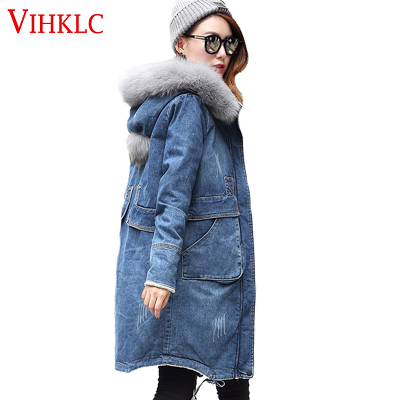 Online Get Cheap Fur Denim Coat -Aliexpress.com   Alibaba Group