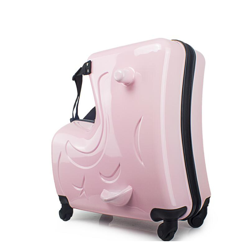 Lovely TRAVEL TALE Kids trolley bag Baby pulling along small cute suitcase trunks for boys and girls in Rolling Luggage from Luggage & Bags on Aliexpress Style - Latest trunk luggage Photos