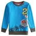 2015 nova desgaste de los niños nueva llegada con estilo de diseños de la novedad patrón de coche de la manera del bordado camisetas para los bebés