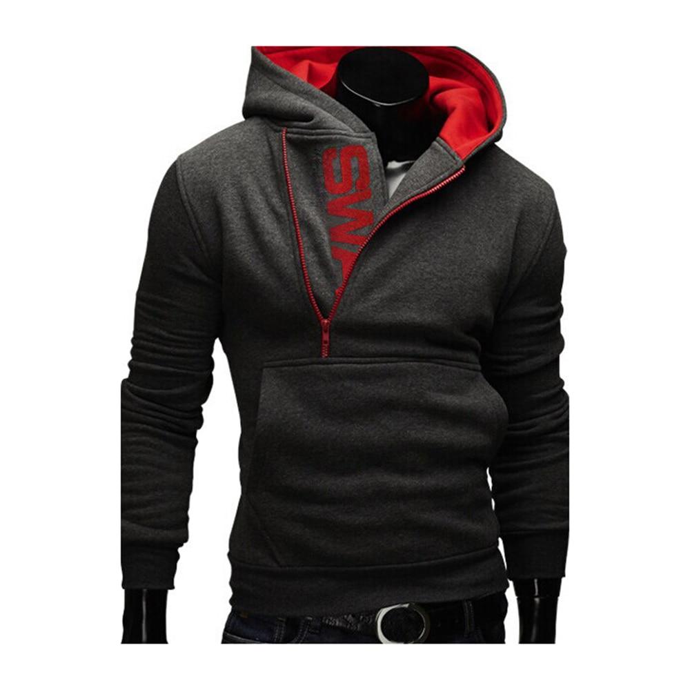 Hoodies Men Autumn Fashion Tracksuit Sweatshirt Men's Winter Warm Collar Cap Long Sleeves Pullover Hoody Sports Sweatshirts 25